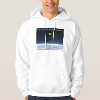 To The Moon Hooded Pullover