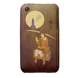 To the moon iPhone 3 cover
