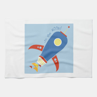 To The Moon Towel