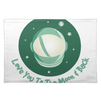 To The Moon Placemat