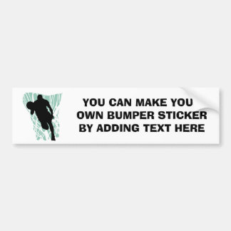 To the Net Basketball Tshirts and Gifts Car Bumper Sticker