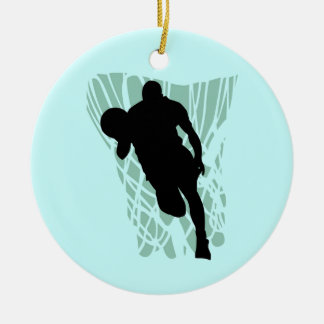 To the Net Basketball Tshirts and Gifts Ceramic Ornament