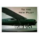 """TO THE """"NEW PILOT"""" CONGRATULATIONS CARD"""