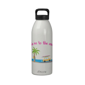 To the Ocean Reusable Water Bottle