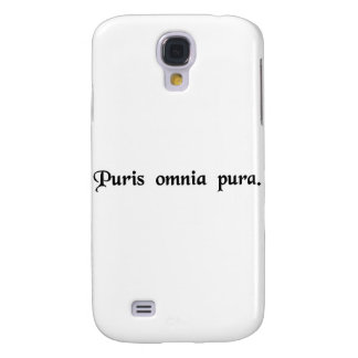 To the pure all things are pure. samsung galaxy s4 case