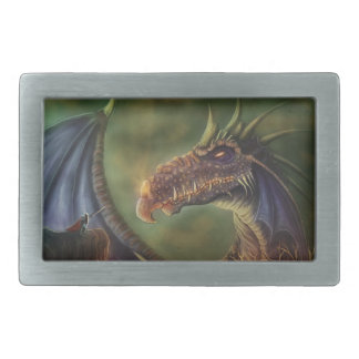 to the rescue! fantasy dragon belt buckle