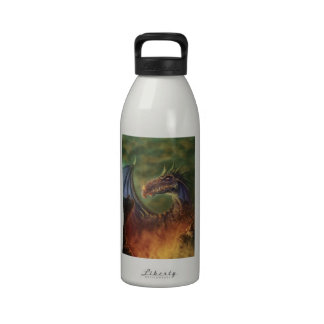 to the rescue! fantasy dragon water bottle