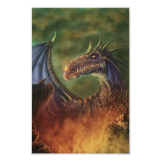 to the rescue fantasy photo print
