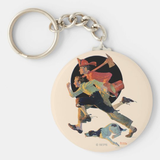 To the Rescue Keychain