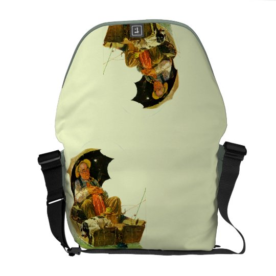 To the Rescue Messenger Bag