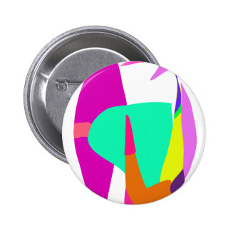 To the Space 2 Inch Round Button