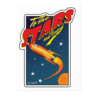 To The Stars Postcard