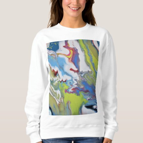 To the Stars womens sweatshirt