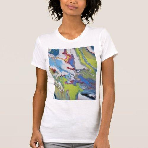To the Stars womens t_shirt