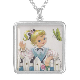 To the Sweetest of Mothers Silver Plated Necklace