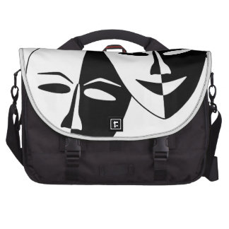 To the Theatre! Laptop Messenger Bag