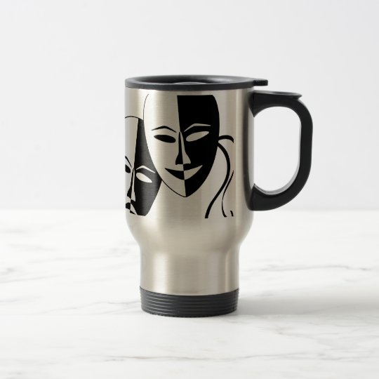 To the Theatre! Travel Mug