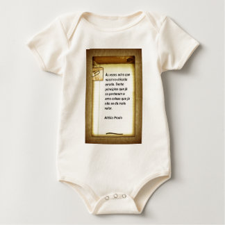 To the times I find - Adélia the Prado Baby Bodysuit