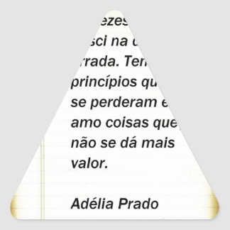 To the times I find - Adélia the Prado