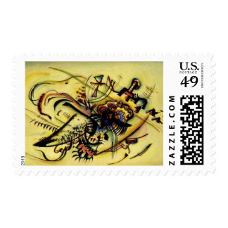 To the Unknown by Kandinsky Postage