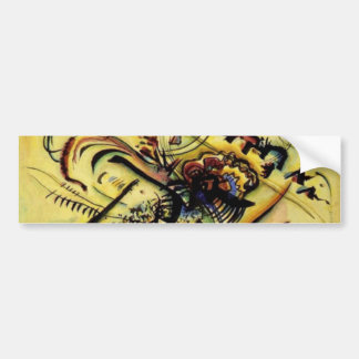 To the Unknown Voice by Kandinsky Car Bumper Sticker