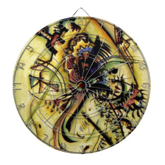 To the Unknown Voice by Kandinsky Dart Boards