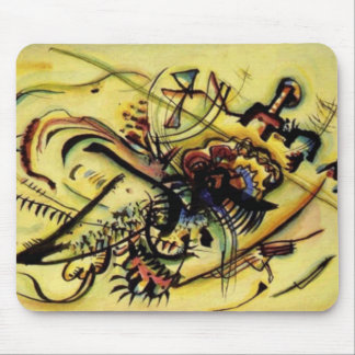 To the Unknown Voice by Kandinsky Mouse Pad