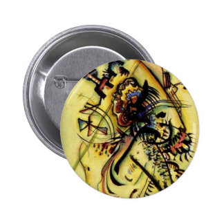 To the Unknown Voice by Kandinsky Pinback Button
