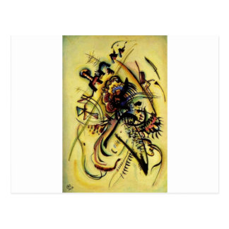 To the Unknown Voice by Kandinsky Postcard