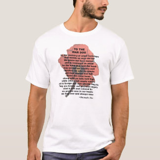 To The War Dog Remembrance Day T-Shirts