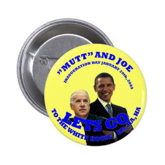 to the white house pinback button