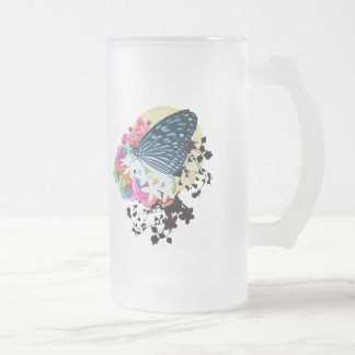 to the worlds end beer 16 oz frosted glass beer mug
