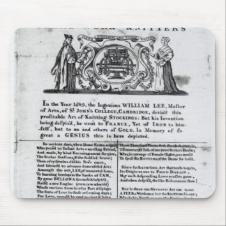 To the Worshipful Company of Frame-Work-Knitters Mouse Pad