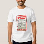 To the Young Women of London, recruitment poster, Tee Shirt