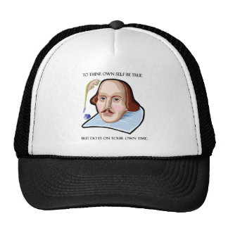 to-thine-own-self-be-true-but trucker hat
