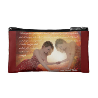 To Thine Own Self Be True Makeup Bag