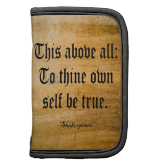 To Thine Own Self Be True Weathered Planners
