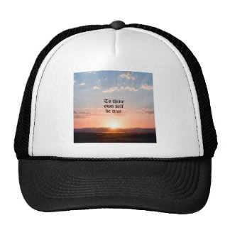 To Thine Own Self Trucker Hat