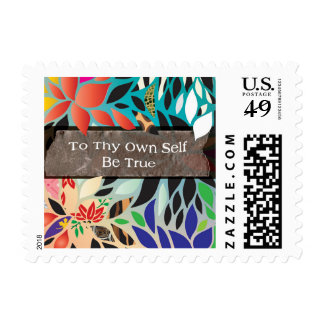 To thy own self be true postage