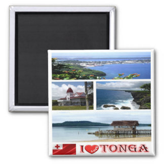 TO - Tonga - I Love Magnet