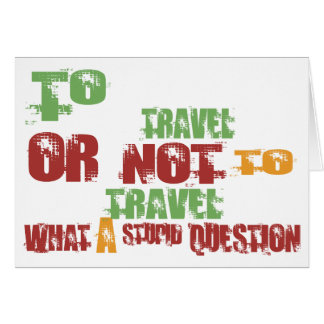 To Travel Card
