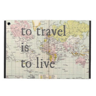To Travel is to Live Ipad case