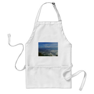To travel is to live TRAVEL QUOTE Adult Apron