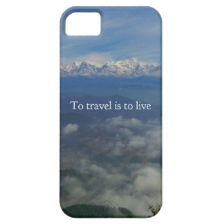 To travel is to live TRAVEL QUOTE iPhone SE/5/5s Case
