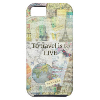 To Travel ls To Live quote iPhone SE/5/5s Case