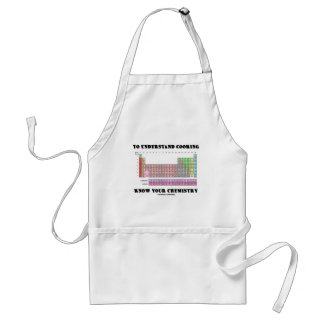 To Understand Cooking Know Your Chemistry Adult Apron