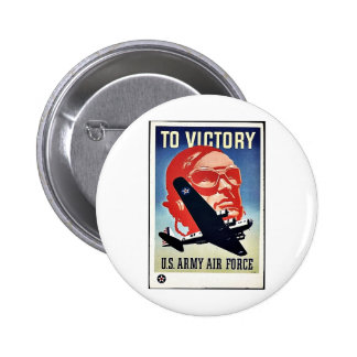 To Victory Pinback Button