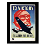 To Victory Post Card