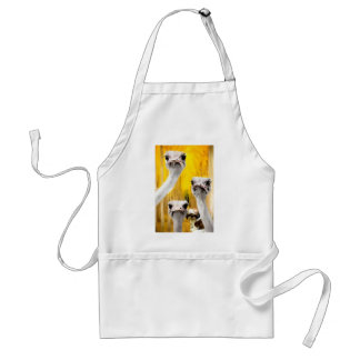 to want to have to do_Painting.jpg Adult Apron