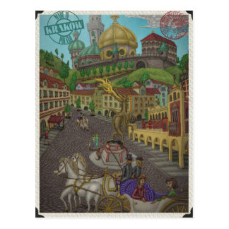 To Wawel, Krakow by Ordovich Postcard